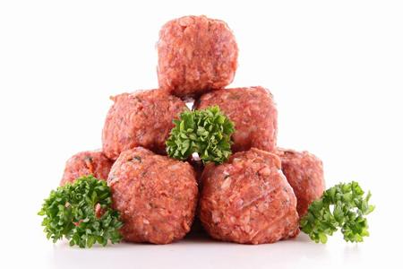 polpette per ricette con carne bio
